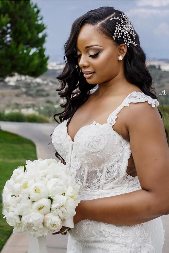 Black Wedding Hairstyles With Veil on Stylevore