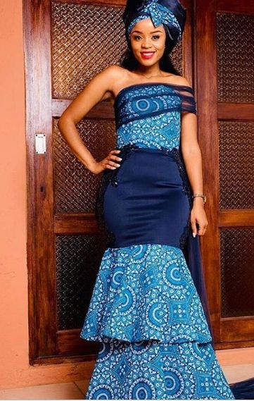 Worlds Best Woman Shweshwe Dresses 2019