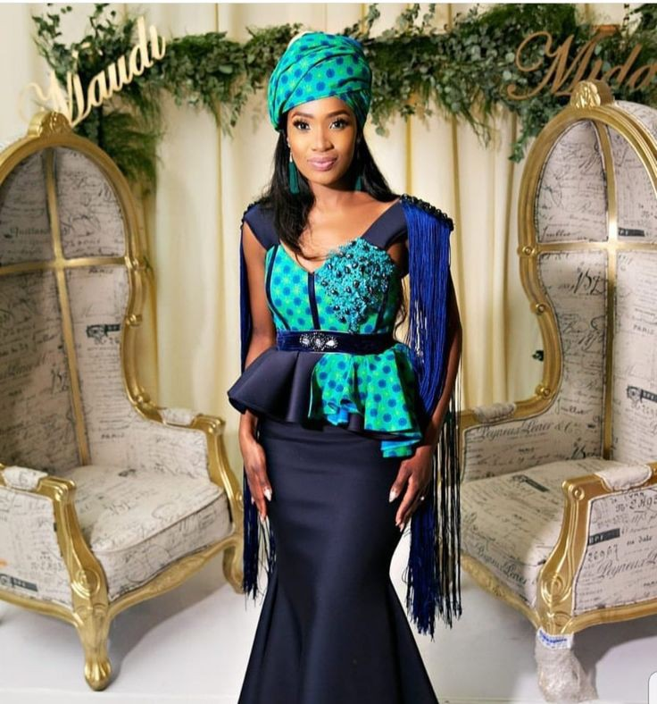 South African Traditional Wedding Dresses Designs On Stylevore