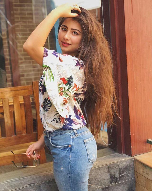 Aditi Bhatia In Long Hair