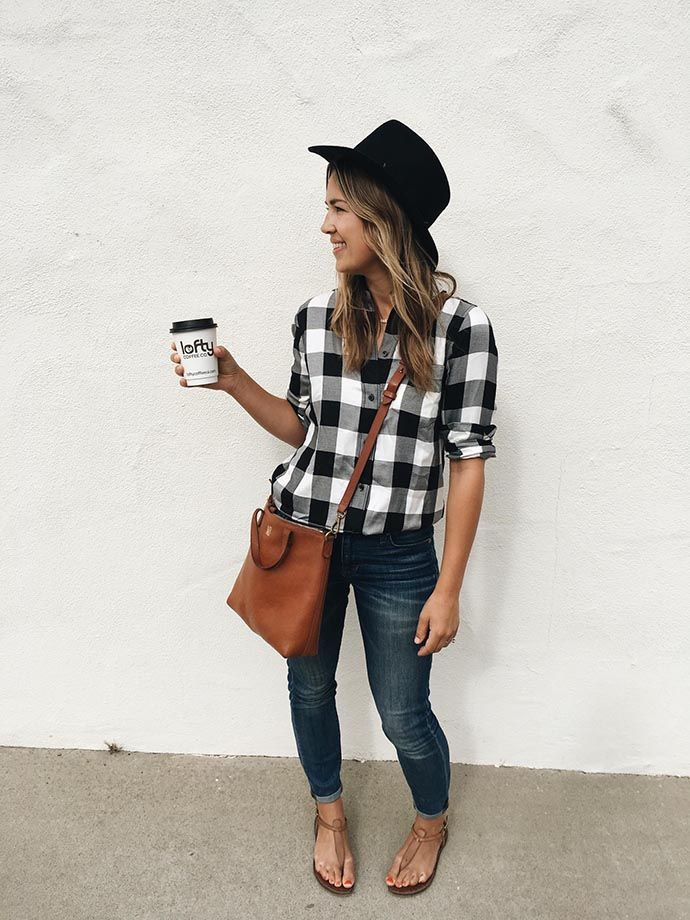 Cool Summer Flannel Shirt Outfit