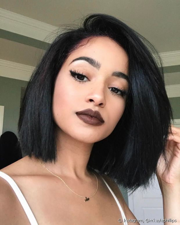 Girly And Cute Ideas For African American Black Bob Hairstyles