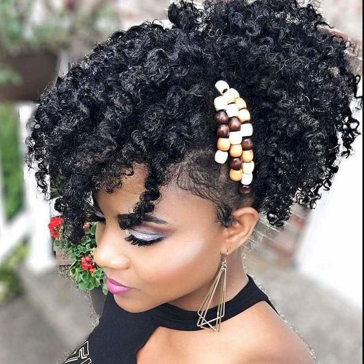 Twist Out Updo Hairstyles For Short Afro Textured Hair On