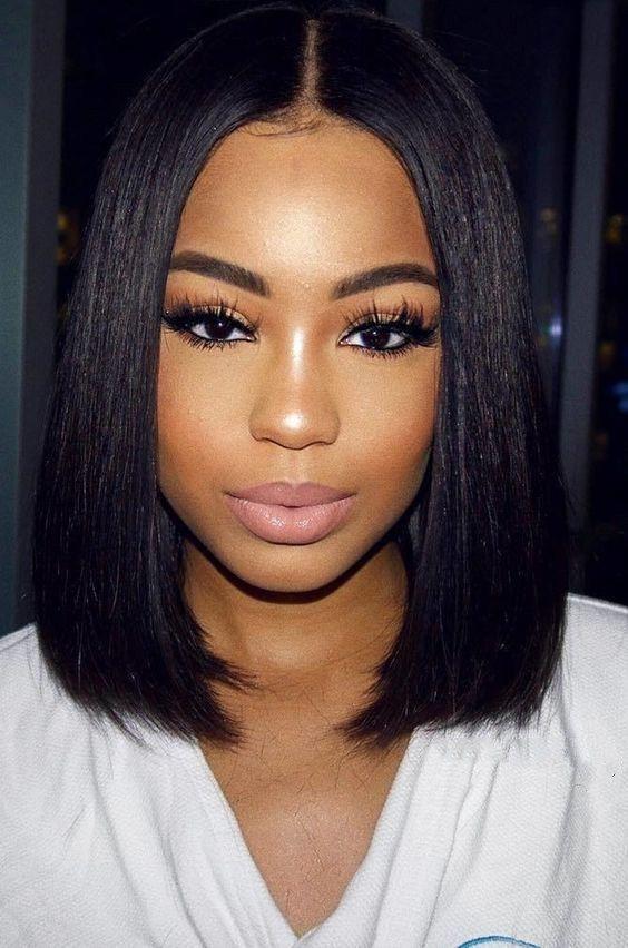 Ear Length Pixie Short Hairstyles Black Hair For Girls On Stylevore