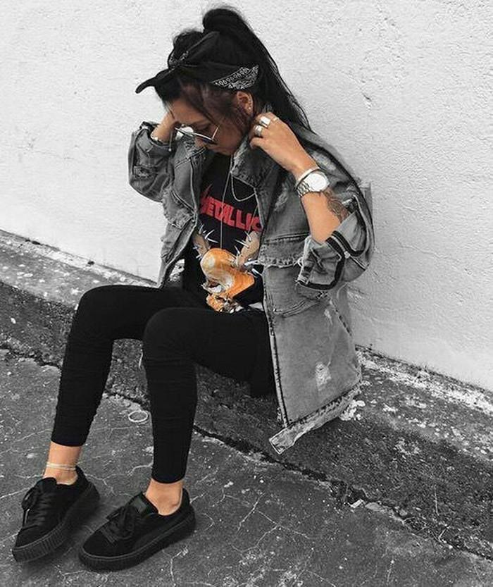 vans all black tumblr
