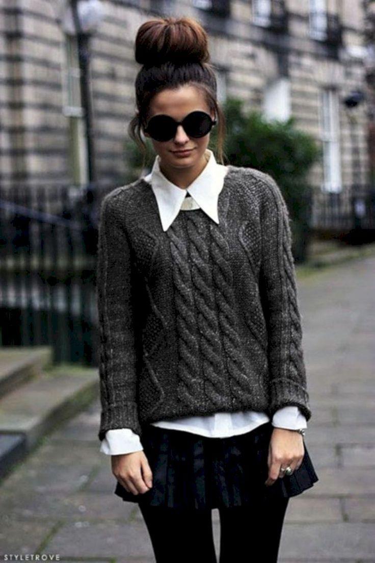 Stylish Street Style Cute Winter Outfits