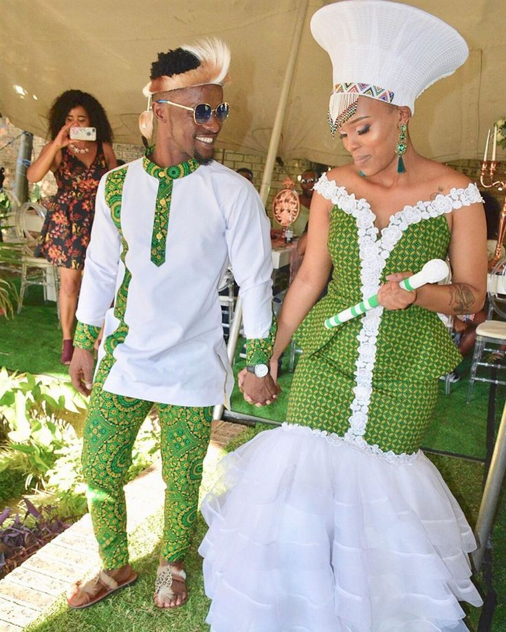 Modern zulu traditional wedding dresses on Stylevore