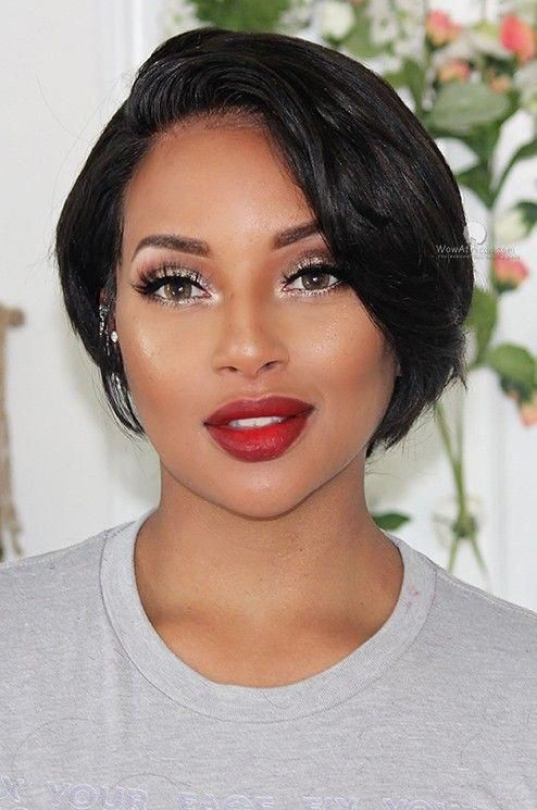 Neck Length Hairstyles For Black Hair