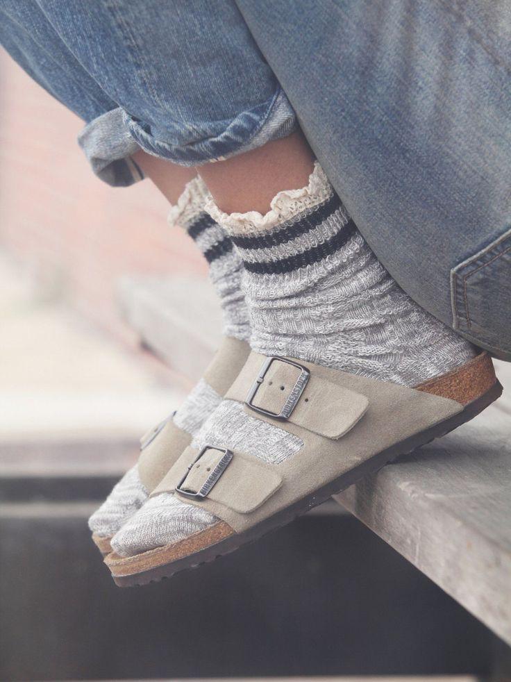 Inspire every girl birkenstocks 90s, Socks and sandals