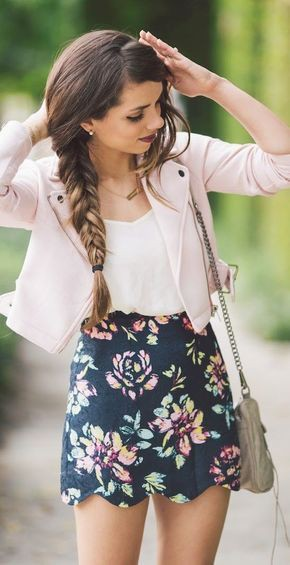 Super classy and stylish floral outfits, Floral design