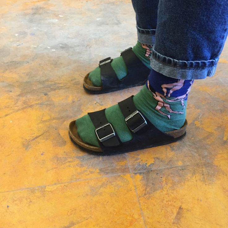 Perfect Birkenstock with ankle socks