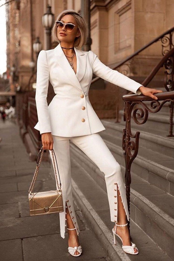 Classy Power Suits For Women