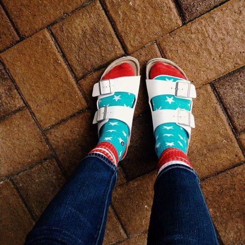 Birkenstock With Socks, Socks and sandals, Birkenstock Arizona