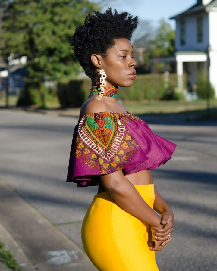 Pictures Of The Latest Ankara Crop Top