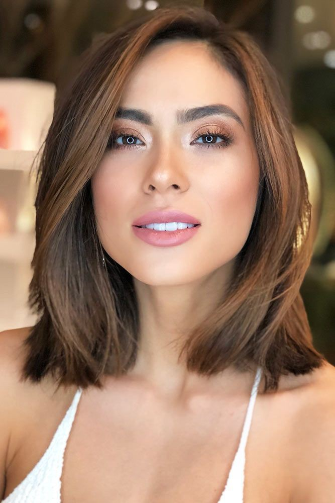 Well admired haircut square face, Bob cut on Stylevore