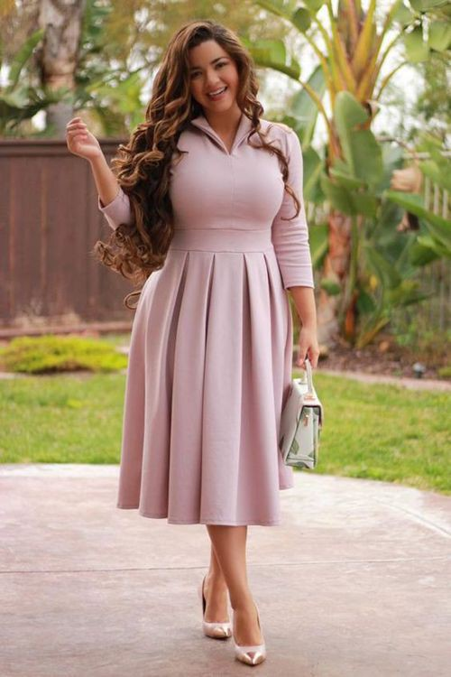 Charming and stylish office dress