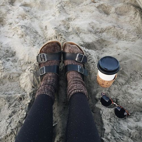 Birks and socks outfit, Winter clothing