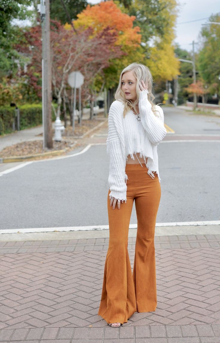 Absolutely nice and beautiful bell bottom outfits, Wide-leg jeans