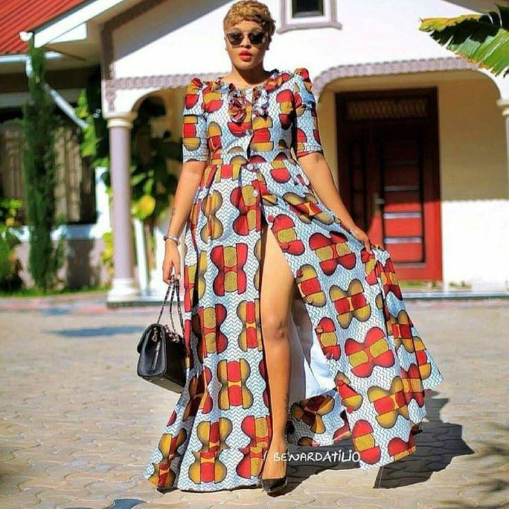 Jackline Wolper Kitenge Fashion Aso Ebi African Ankara Dresses Ankara Dresses Aso Ebi Jacqueline Wolper