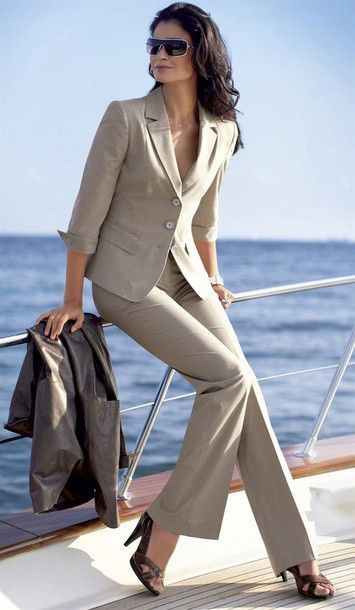 Power Suit Women Slim Size