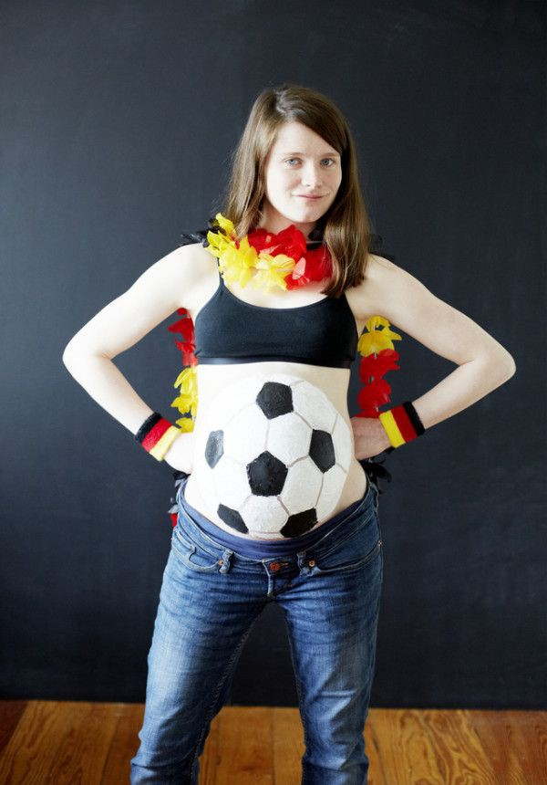 Football Pregnant Halloween Costumes