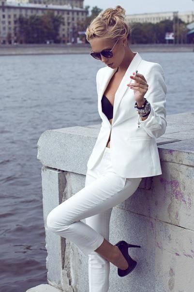 Trendy Power Suits For Women