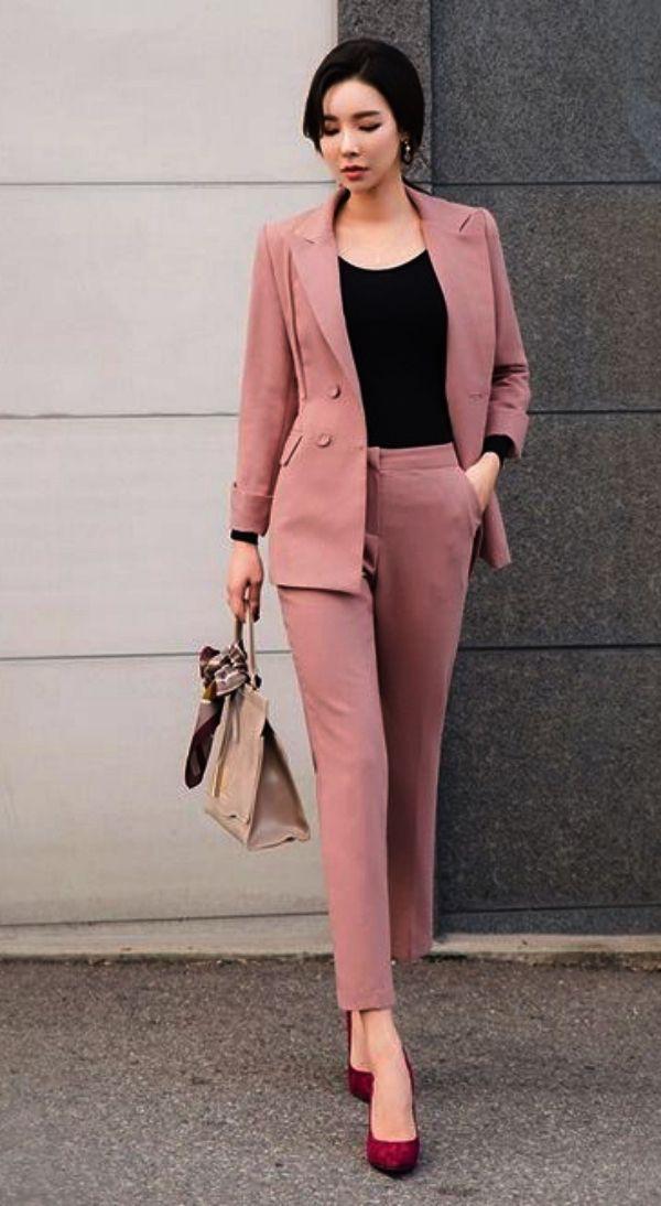 Office formal dress poses women