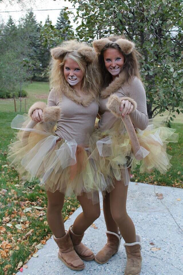 Homemade Diy Lion Halloween Costume on
