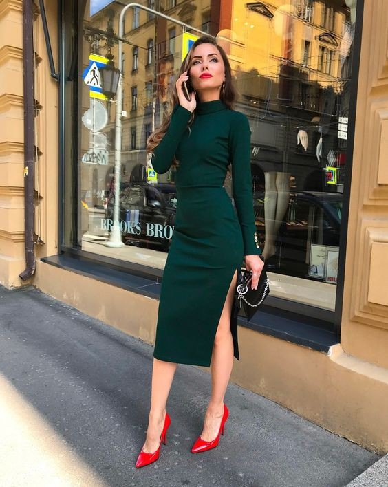 What to wear with red shoes girls