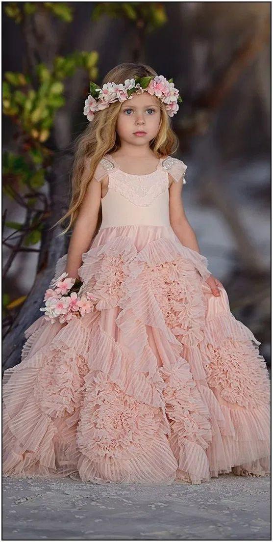 Little girl princess dresses, Flower girl