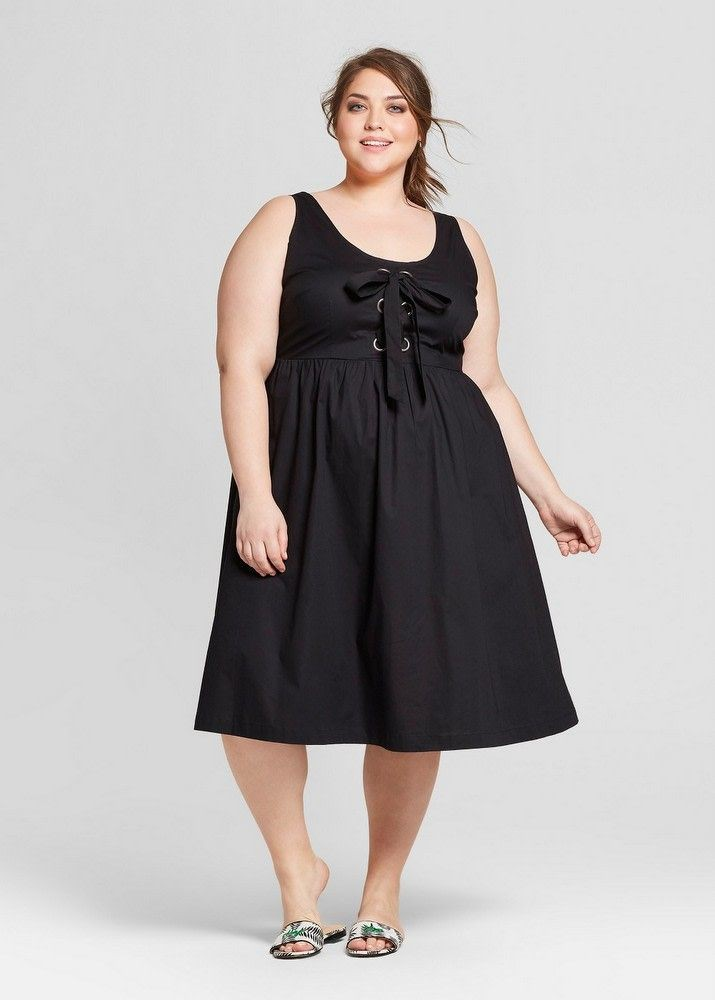 Follow my style plus size dresses, Little black dress