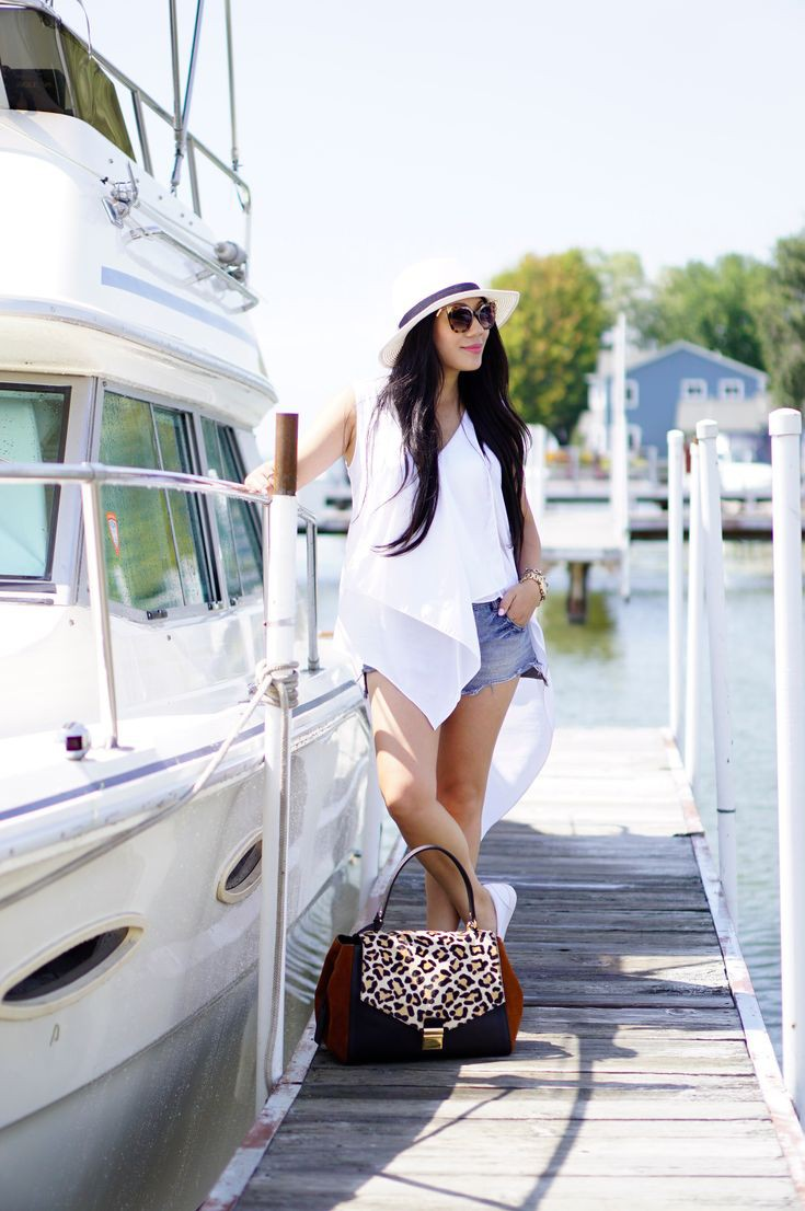 Explore more wear on boat, Knotted Maxi Dress