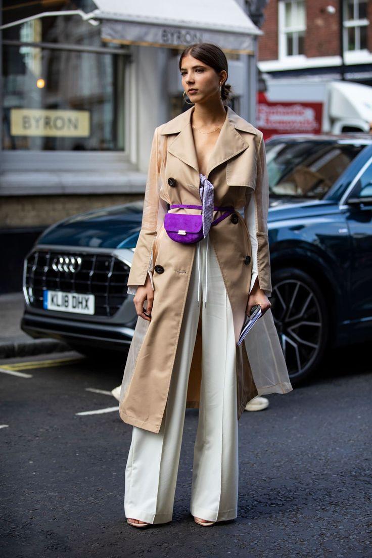 Fantastic outfits fashion model, London Fashion Week