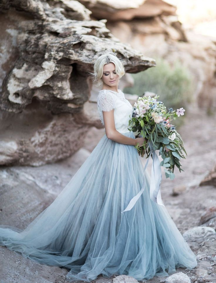 Explore stunning and amazing blue wedding dress, Wedding dress