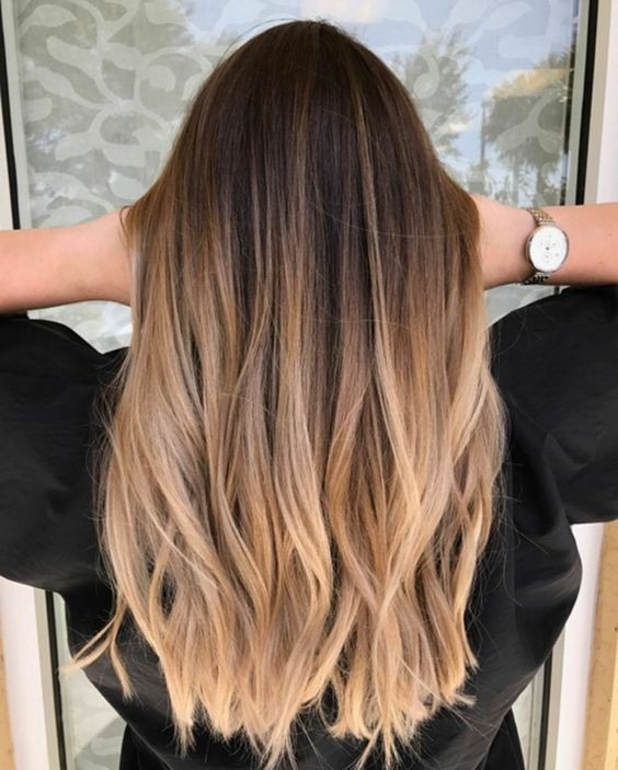 Divine style balayage beauty, Human hair color