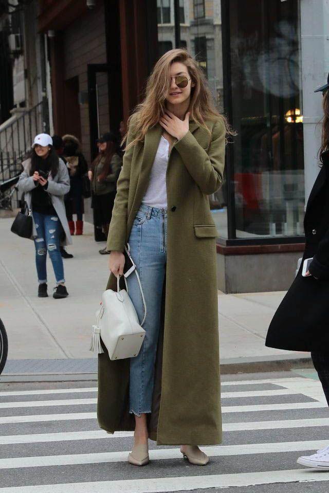 Gigi hadid maxi coat, Winter Coat