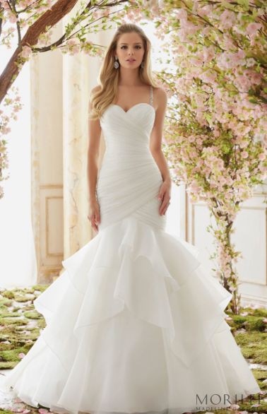 Mori lee wedding dresses, Wedding dress