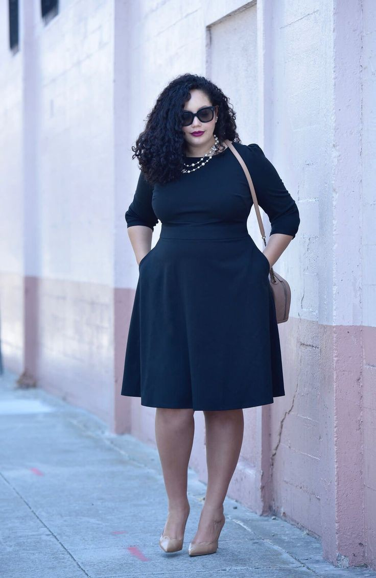 Plus Size Black Outfit Ideas
