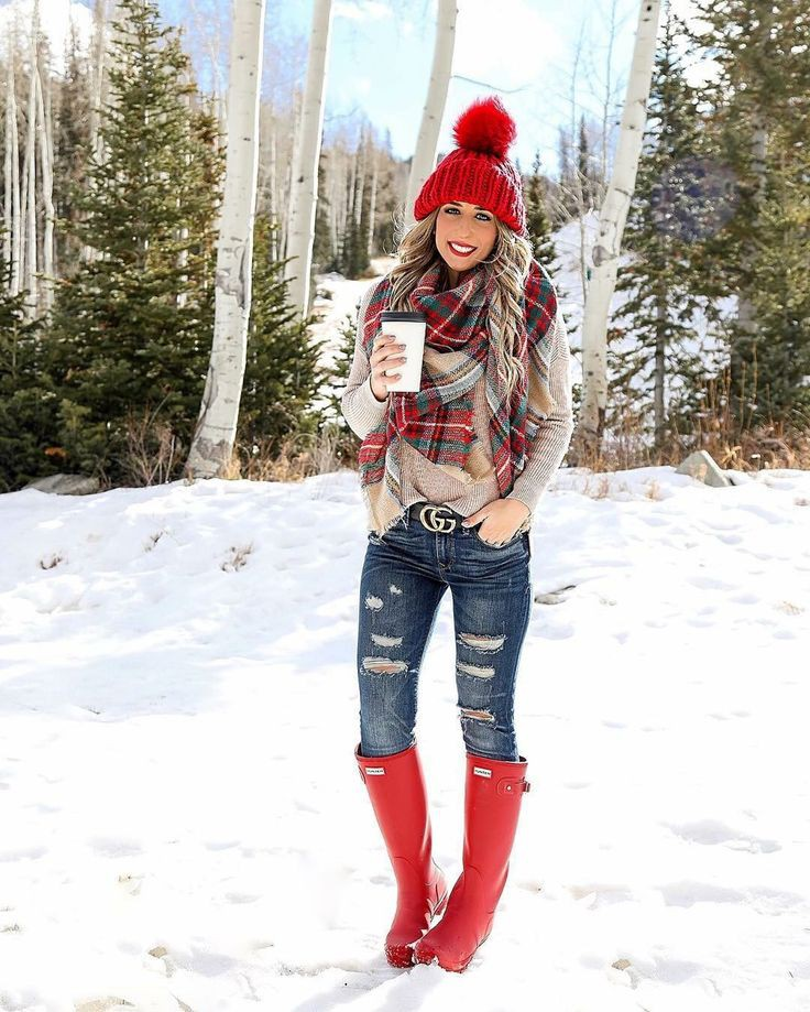 Snowing Outfit/Snow Outfit Ideas, Winter clothing, Fashion boot