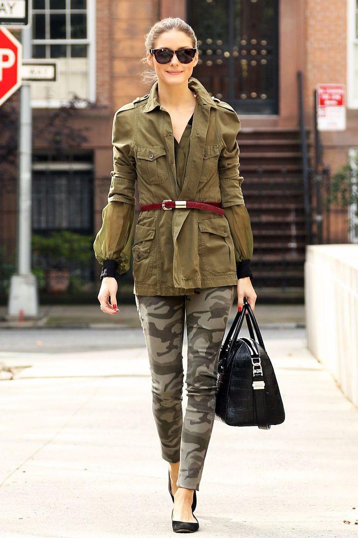 Celeb in military looks, Casual wear
