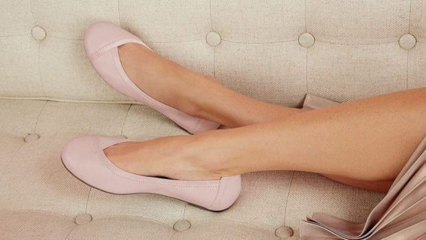 Ballet flats with arch support