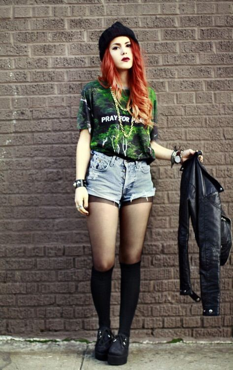 Check these! grunge look girl, Grunge fashion