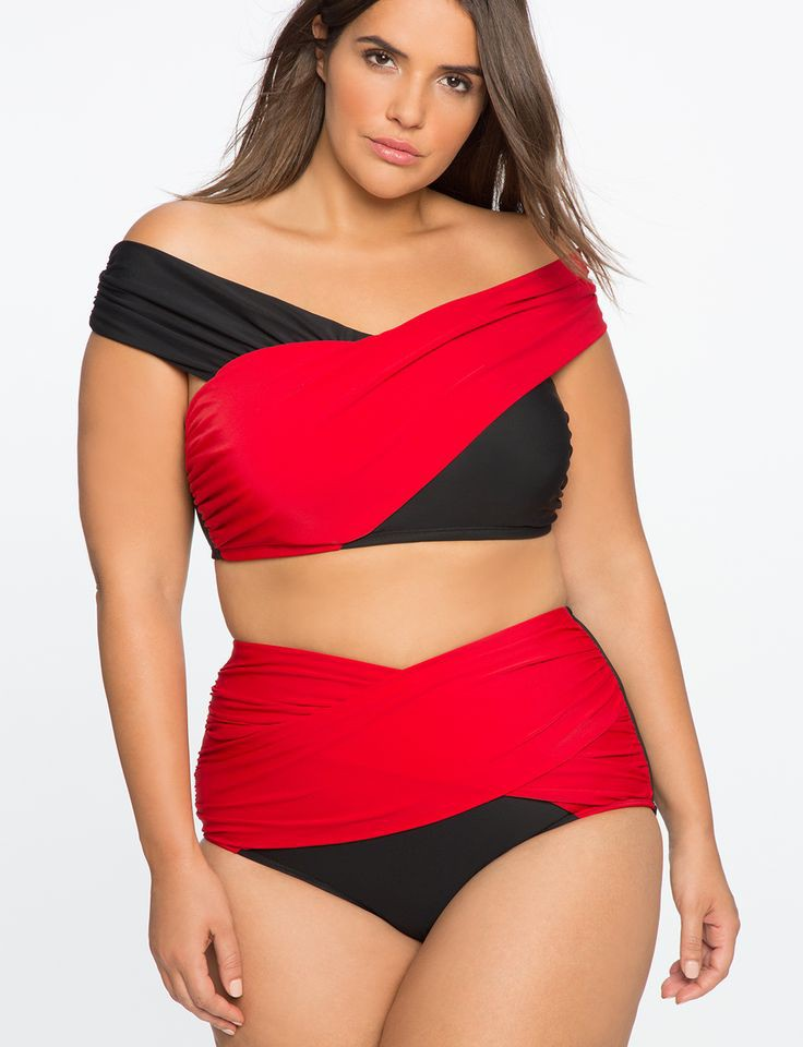 Sexy full figured swimwear, One-piece swimsuit