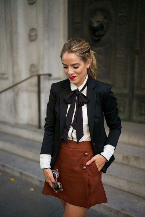 Fashion ideas for preppy outfits, Bow tie
