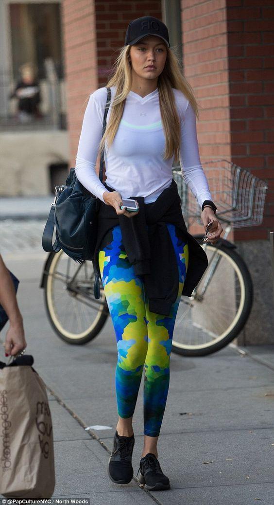 Gigi hadid gym style, Gigi Hadid