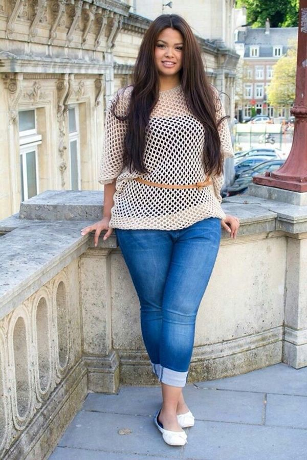 Cute plus size spring outfits