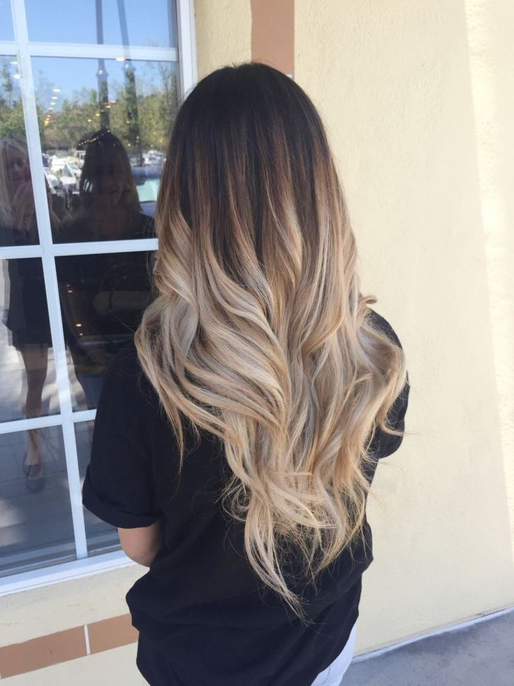 Asian style fashion ombre hair, Human hair color