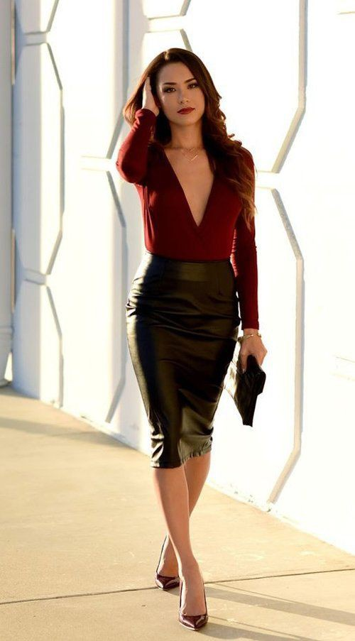 Divine ideas for date night outfits, Pencil skirt