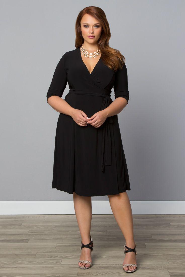 Find out new little black dress, Wrap dress