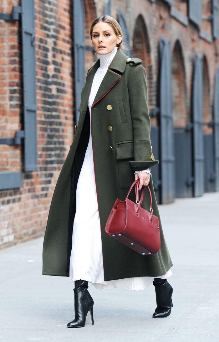 Olivia palermo military coat, Olivia Palermo